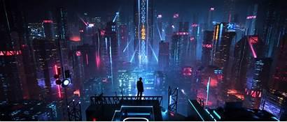 Cyberpunk Futuristic Desktop 4k Cool Future Wallpapers