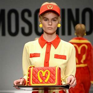 McDonald's and Moschino.. who would have thought? | My ...