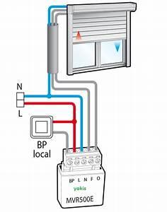 Branchement Volet Roulant électrique : sch ma de branchement volet roulant avec micromodule yokis ~ Melissatoandfro.com Idées de Décoration