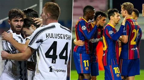 Juventus vs Barcelona, UEFA Champions League Live ...