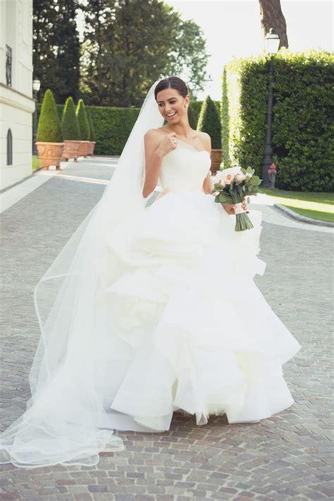 Vera Wang Katherine Real Wedding Inspiration Preowned