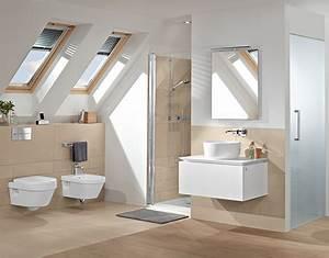 Welche Decke Im Bad : bad mit dachschr ge raum clever nutzen villeroy boch ~ Sanjose-hotels-ca.com Haus und Dekorationen