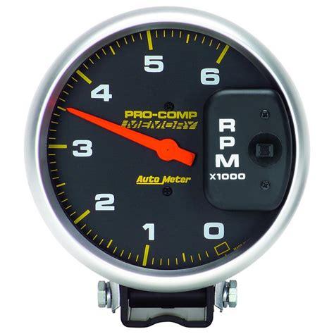Auto Meter Pro Comp Diesel Tachometer