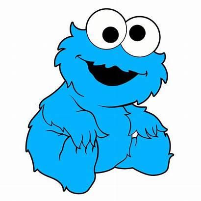 Cookie Monster Sticker Noob Muppet Stickers Mania