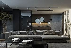 Wohnzimmer Gestalten Modern : wohnideen wohnzimmer grau ~ Sanjose-hotels-ca.com Haus und Dekorationen