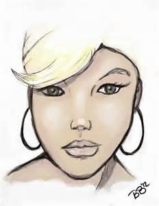 Drawing Random Face