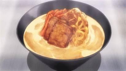 Anime Soma Shokugeki Wars Ramen Dishes Cooking