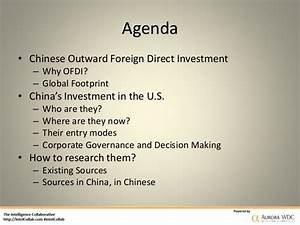 How Chinese Companies Make Investment Decisions in the U.S.