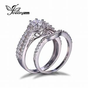 jewelrypalace 925 sterling silver 2ct cubic zirconia With wedding anniversary ring sets