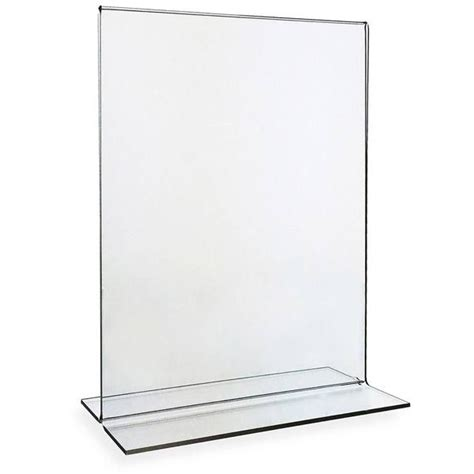 Acrylic Sign Holder Bottom Load 8 5 Quot X11 Quot Model Number