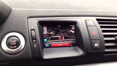bmw   serie iphone  navigation youtube