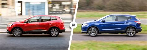 renault kadjar vs nissan qashqai renault kadjar vs nissan qashqai which is best carwow