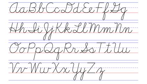 how to write cursive letters exles of handwriting styles draw your world draw