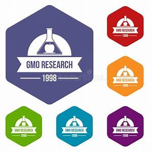 Market Research Icons Set  Simple Style Stock Vector