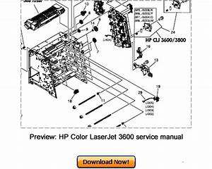 Hp Color Laserjet 3600n Diagram