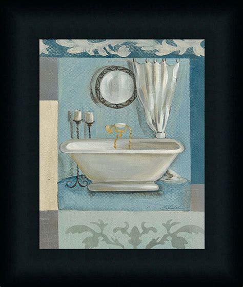 antique bath ii silvia vassileva spa bathroom decor framed