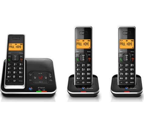 bt mobile wifi buy bt xenon 1500 cordless phone with answering machine