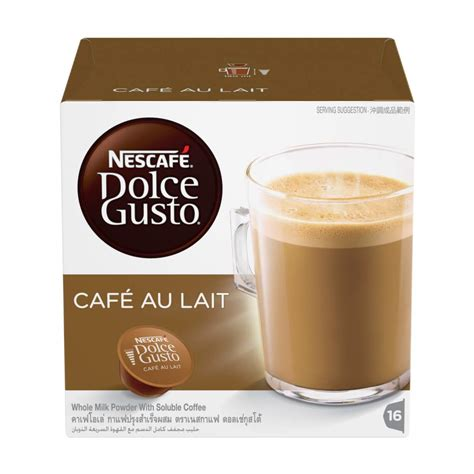 Wandfarbe Cafe Au Lait by Nescaf 201 174 Dolce Gusto 174 Caf 201 Au Lait Capsules 16s