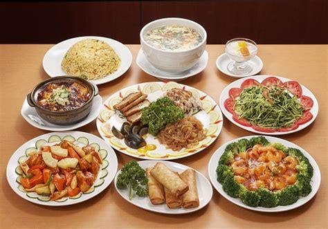 中華 料理 メニュー