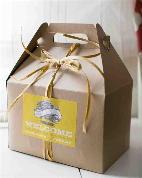 46 Welcome Bags From Real Weddings Wedding Ts For