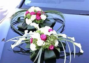 Deco Voiture Mariage Pas Cher : composition florale voiture mariage pas cher ~ Teatrodelosmanantiales.com Idées de Décoration