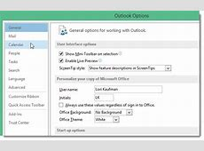 How to Add Holidays to Your Calendar in Outlook 2013