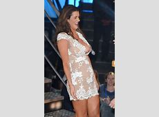 Big Brother 2015's Helen Wood almost suffers a nip slip as