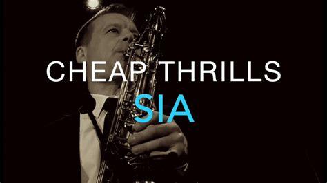 Sia Cheap Thrills Karaoke Version