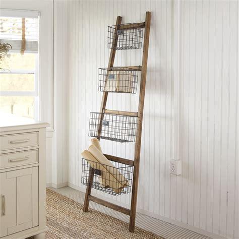 cheungs vertical wooden      decorative ladder reviews wayfair