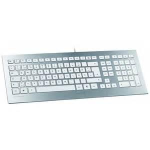 tastatur design cherry tastatur strait keyboard silber tastatur otto