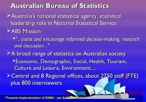 australian bureau statistics sdmx at australian bureau of statistics