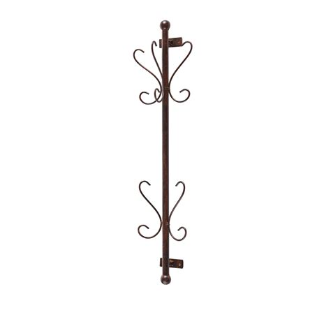 amazoncom sei talcott wall mount bronze entryway coat