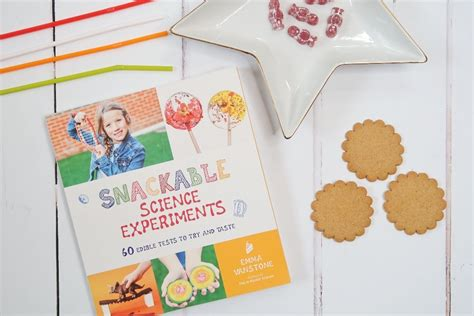 snackable science experiments  edible tests