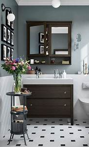 Ikea Hemnes Serie : a traditional approach to a tidy bathroom the ikea hemnes bathroom series has a traditional ~ Orissabook.com Haus und Dekorationen