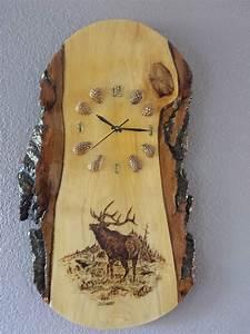 Elk, Wood, Clock, U2026