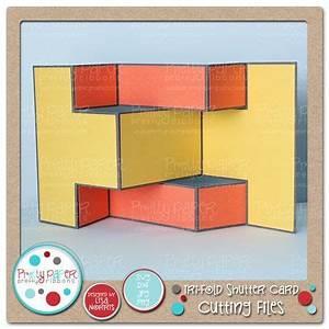 27 best Tri Fold Shutter Card images on Pinterest