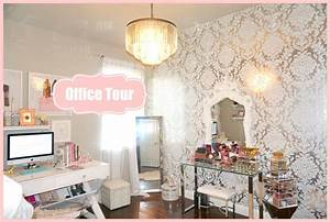 Makeup Room Office Tour - My Filming Room Tour 2015