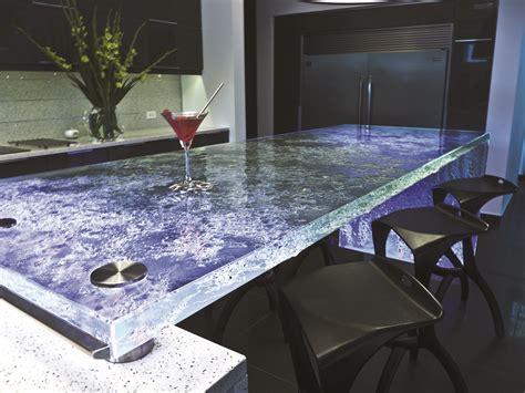 new design glass countertops glass side panels