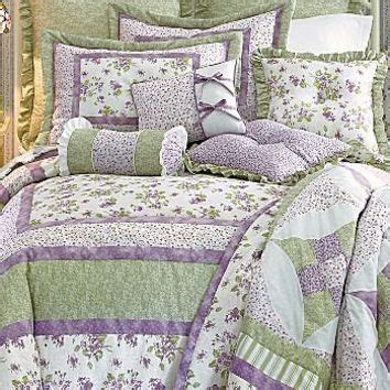 jcpenney quilted bedspreads meadow comforter set w bonus quilt from jcpenney