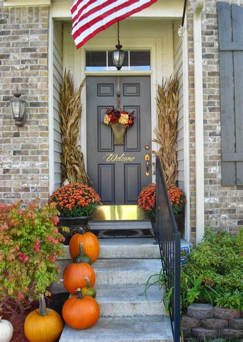 fall  halloween porch decor ideas embellishmints
