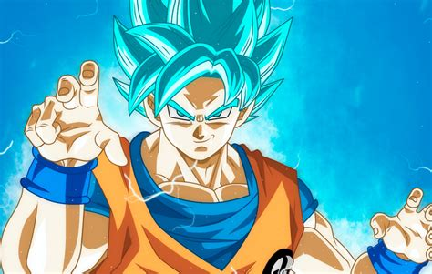 Dbz Wallpaper Goku And Vegeta Goku Ssj Blue By Monstkem On Deviantart