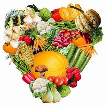 Vegetables Vegetable Transparent Heart Background Clipart Fruits