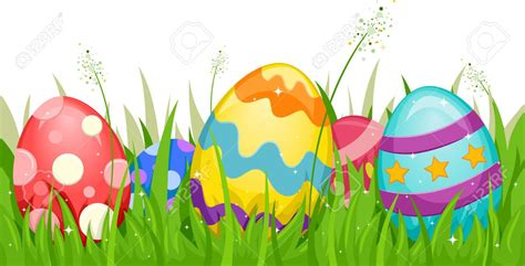 Free Easter Clip Ground Clipart Easter Grass Pencil And In Color Ground