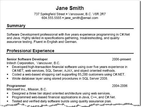 tips on resume summary free resume exles with resume tips squawkfox