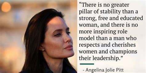 angelina jolies powerful speech   women