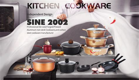 zhejiang huochu cookware   die cast aluminum cookware forged aluminum cookware