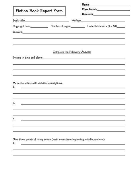 remarkable middle school book report brochure