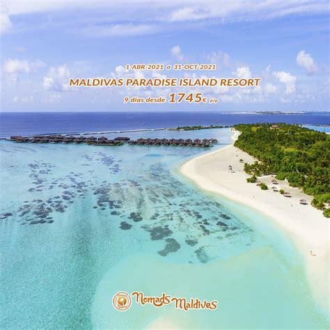 Се настаняват безплатно в стаята на родителите на база нощувка и доплащат съответната сума посочена в. Oferta Maldivas 2021 | Paradise Island Resort