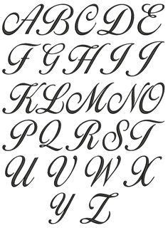 image result  fancy text fonts lettering alphabet cursive fonts alphabet tattoo fonts