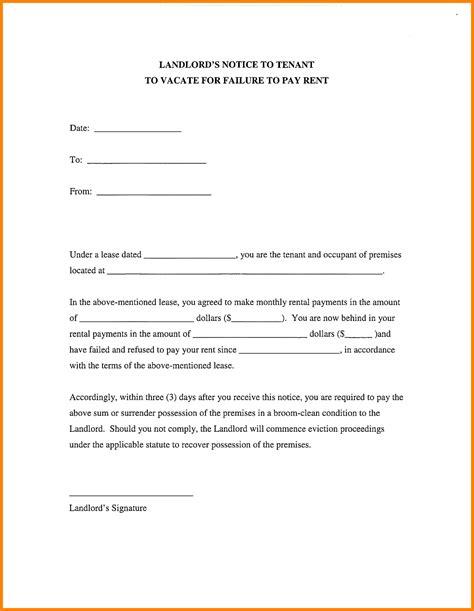 certification letter rental  landlord tenant  lease